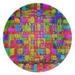 (15) .jpg de pintura plato para fiesta