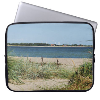 """15"""" laptop bag beach with dunes"""