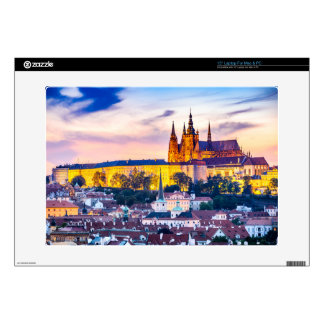"""15"""" Laptop For Mac & PC Prague castle Laptop Decal"""