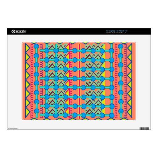 "15"" Laptop For Mac & PC Skin with Geometric Design Laptop Skin"