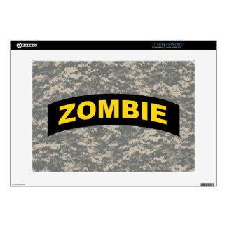 "15"" Laptop Skin - ACU Zombie Tab"