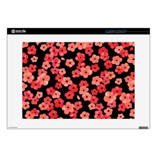 "15"" Laptop Skin with Cherry Blossoms"