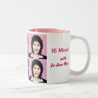 15 Minutes with Jo-Ann Morgan Two-Tone Coffee Mug