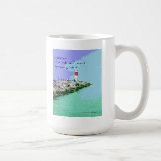 15 Mug - Original Art & Haiku - passageway