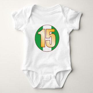 15 NIGERIA Gold Baby Bodysuit