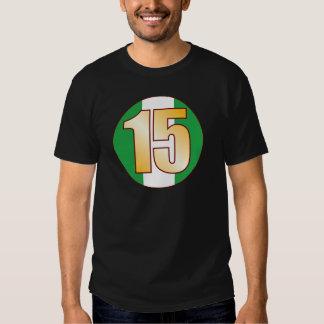 15 NIGERIA Gold Shirt