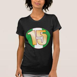 15 NIGERIA Gold Tee Shirt