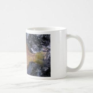 15 oz.  Classic White Sunfish Mug