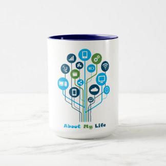 15 oz Combo Technology Mug