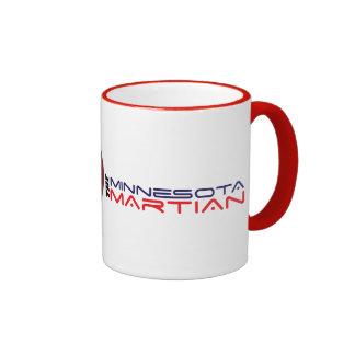 15 oz Minnesota Martian Mug, ringed in red