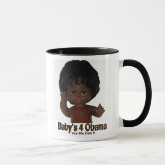 15 oz Mug  Babys 4 Obama Yes We Cancopy 2