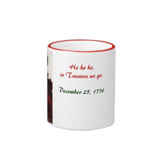 15 oz. TO TRENTON WE GO. Ringer Coffee Mug