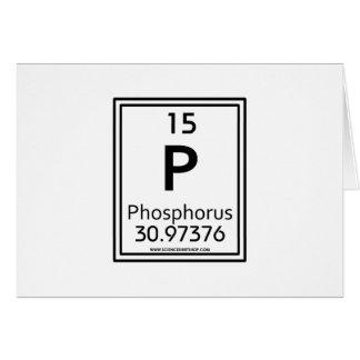 15 Phosphorus Card