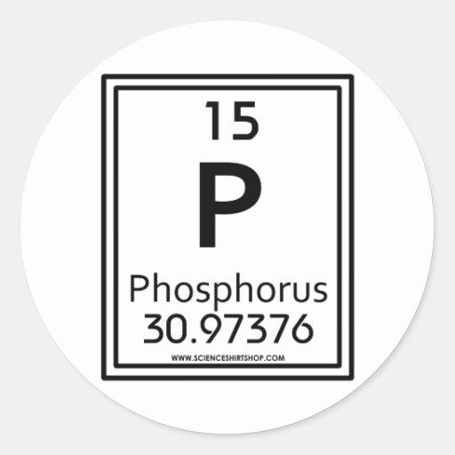 15 Phosphorus Sticker