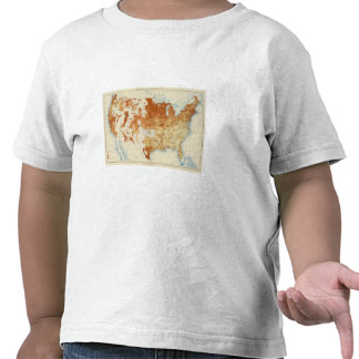 15 Proportion whites foreign parentage 1890 Tee Shirt