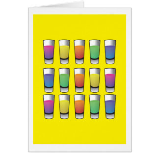 15 shooters of liquor card