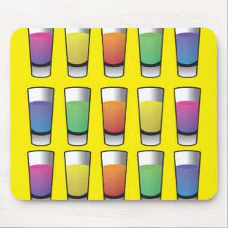 15 shooters of liquor mouse pad
