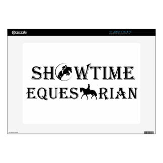 "15"" Showtime Equestrian Laptop Skin"