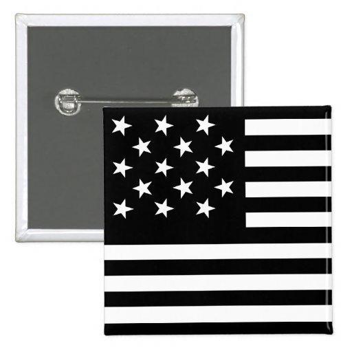 15 Star Us Flag Pin