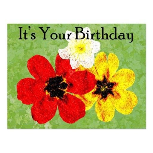 15 su su cumpleaños tarjetas postales