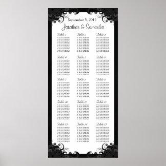 15 tablas que se casan blancos y negros que póster