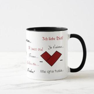 15 Ways to Say 'I Love You' Mug