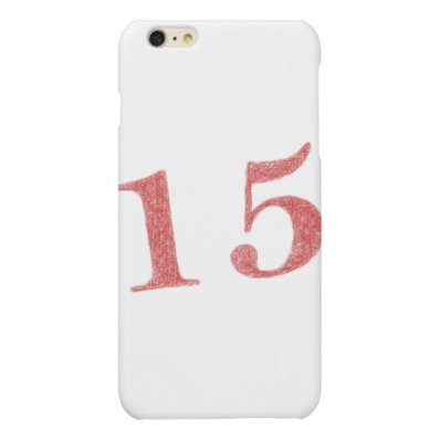 15 years anniversary matte iPhone 6 plus case