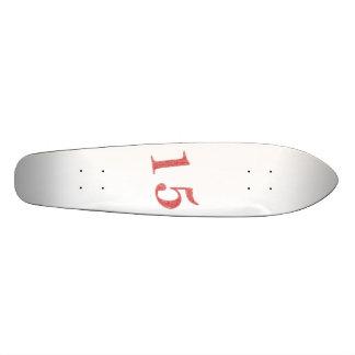15 years anniversary skateboard