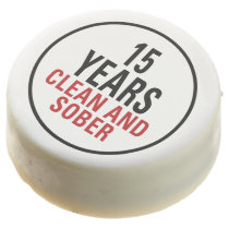 15 Years Clean and Sober Chocolate Covered Oreo