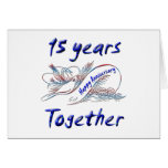 15 Years Together Cards