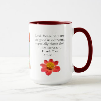 15oz Combo Gossip Mug Prayers & Coffee By Zazz_It