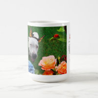 15oz Mug: Mitzy the Mariposa (dog with wings) Coffee Mug