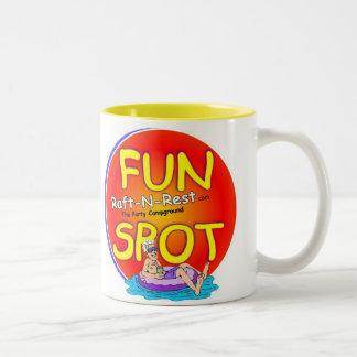 15oz. Party Mug...Raft N Rest Fun Spot Two-Tone Coffee Mug