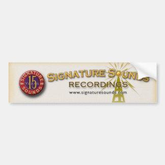 15th Anniversary Bumper Sticker