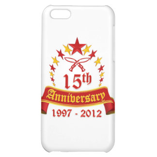 15th Anniversary Case For iPhone 5C