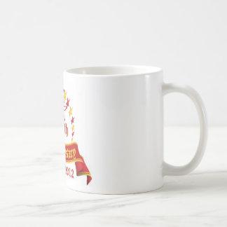 15th Anniversary Classic White Coffee Mug