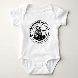 15th Anniversary Club Logo White Baby Bodysuit