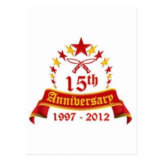 15th Anniversary Postcard
