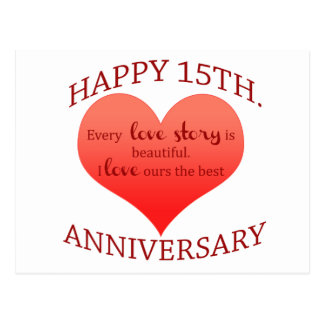 Wedding Anniversary Gift Ideas 15 Years : 15 Years Of Marriage Gifts on Zazzle