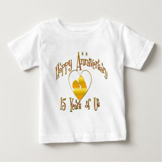 15th. Anniversary Tshirts