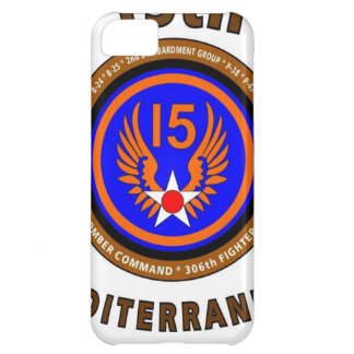 "15TH ARMY AIR FORCE ""ARMY AIR CORPS"" WW II iPhone 5C CASE"