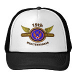"15TH ARMY AIR FORCE ""ARMY AIR CORPS"" WW II TRUCKER HAT"