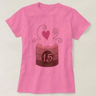 15th Birthday Gift Ideas For Her T-shirt