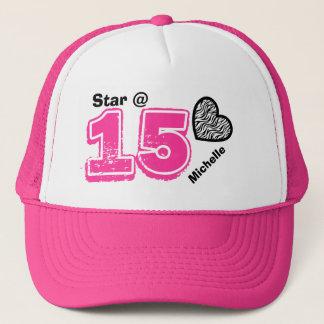 15th Birthday I'm a Star Custom Name V13C Trucker Hat
