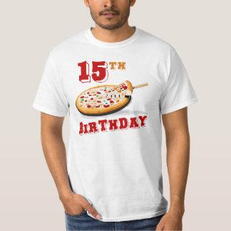 15th Birthday Pizza party Shirt