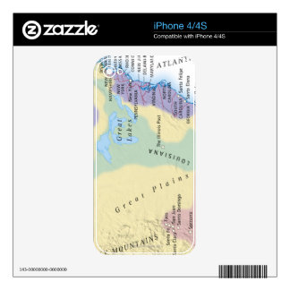 15th Century Map Skin For The iPhone 4