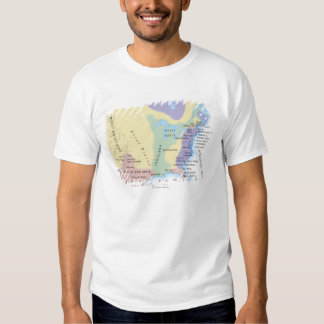 15th Century Map T-Shirt