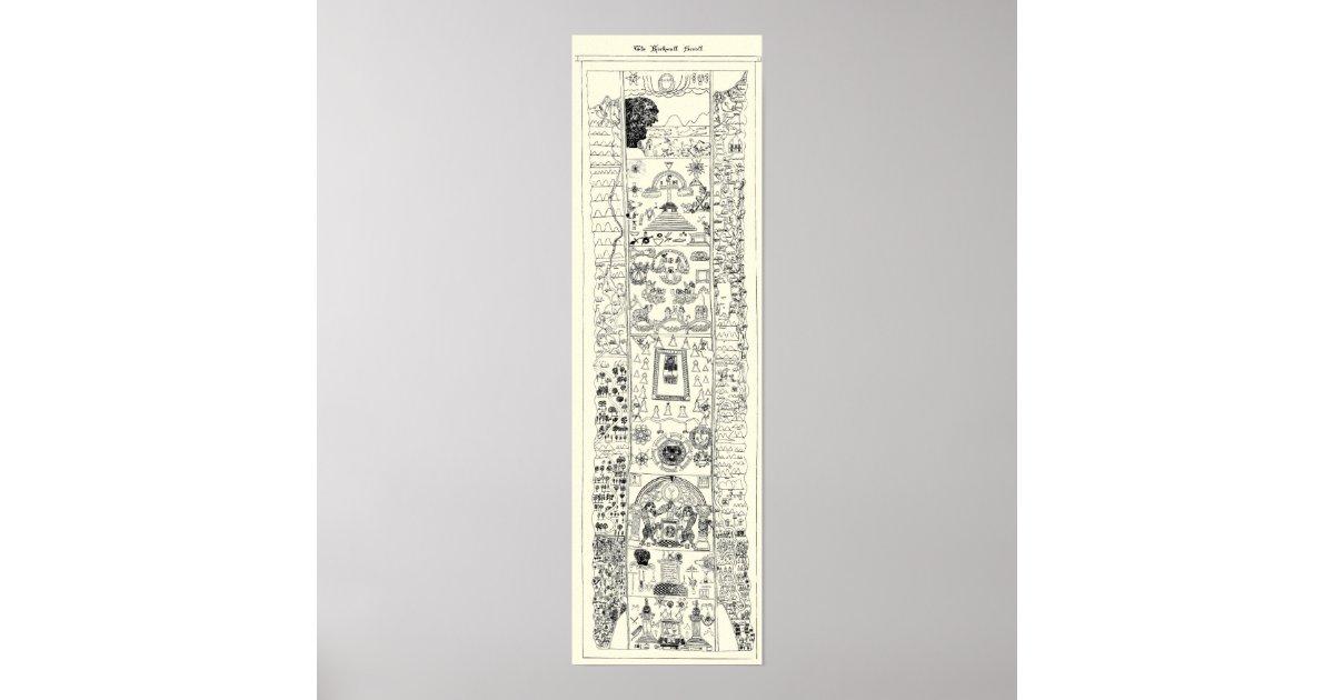 Freemasonry gifts on zazzle 15th century masonic kirk wall scroll poster pronofoot35fo Images