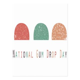 15th February - Gumdrop Day - Appreciation Day Postcard