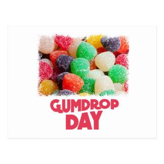 15th February - Gumdrop Day Postcard